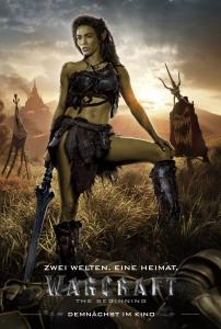 Warcraft: The Beginning Charakterposter Garona 01