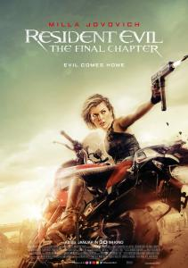 Resident Evil: The Final Chapter Poster 01